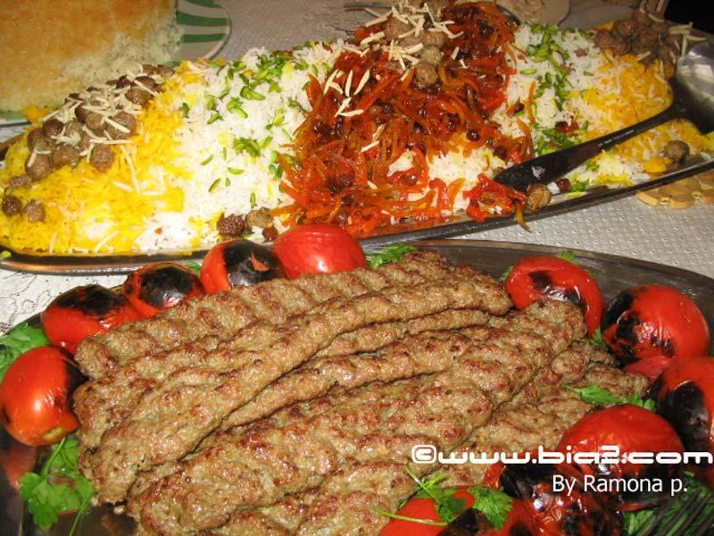 الكباب الايراني بالصور،طريقة عمل الكباب الايراني بالصور،كباب بالطريقة الايرانية Persian food.jpg